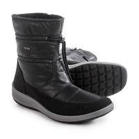 Ara Gloria Gore-Tex(R) Snow Boots - Waterproof - BLACK FABRIC (8.5 )