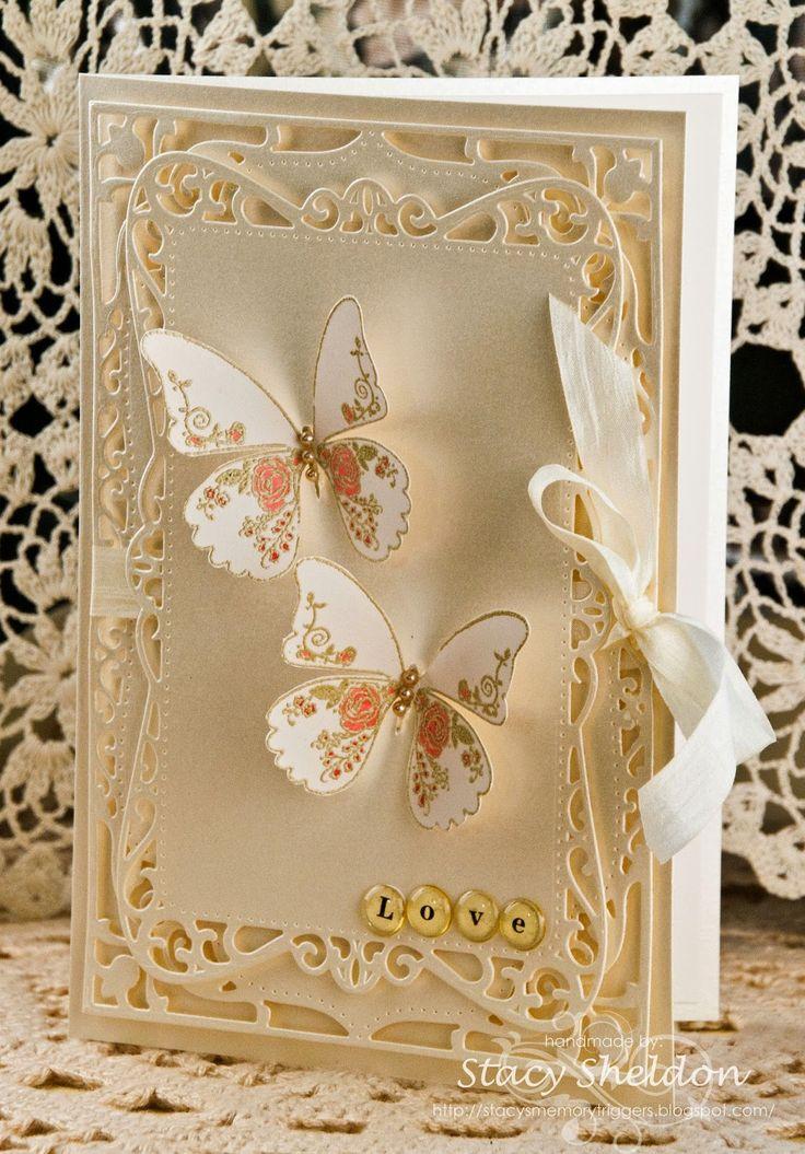 Фото своими руками открытку с бабочкой