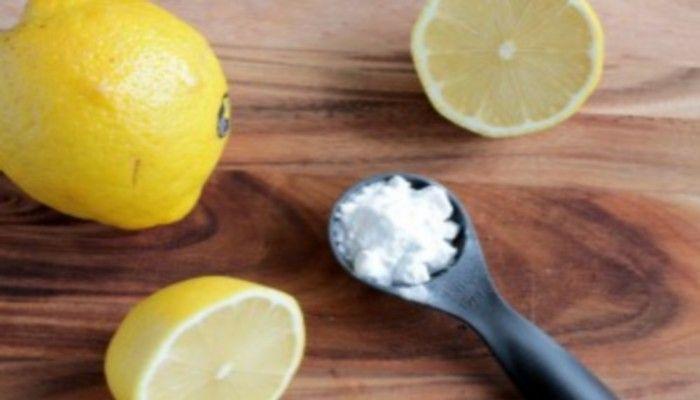 Le citron & le bicarbonate de soude sont une combinaison de guérison puissante.