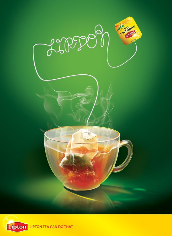 Lipton by Ramy Mohamed, via Behance