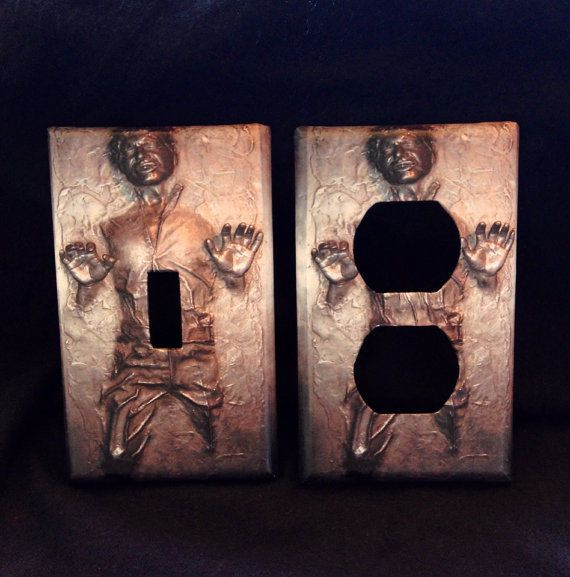 Best 20 light switches ideas on pinterest light switch covers switch plates and light switch art - Han solo carbonite wall art ...
