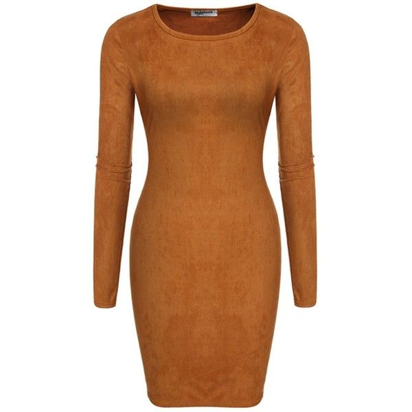 Long sleeve bodycon dresses usa
