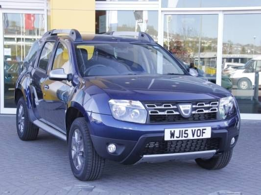 used 2015 15 reg cosmos blue dacia duster 1 5 dci 110 laureate 5dr 4x4 for sale on rac cars. Black Bedroom Furniture Sets. Home Design Ideas