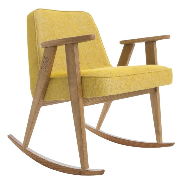 366 Rocking Chair, LOFT Mustard 5 days delivery | Free delivery to EU (excl. UK) | 14 days return