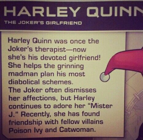 Harley Quinn's fact #harleyquinn