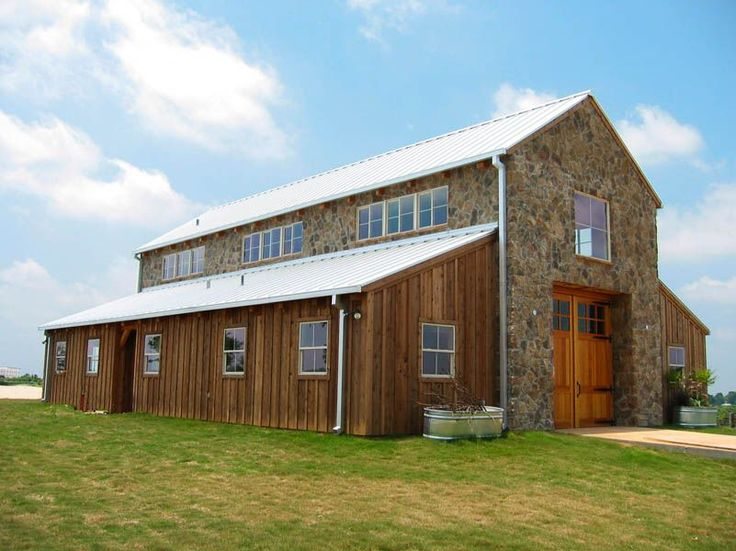 Love this barns pinterest love and love this for Timber frame ranch home plans