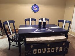 Dallas Cowboys Table Love The Storage Hence Idea For Games And Such