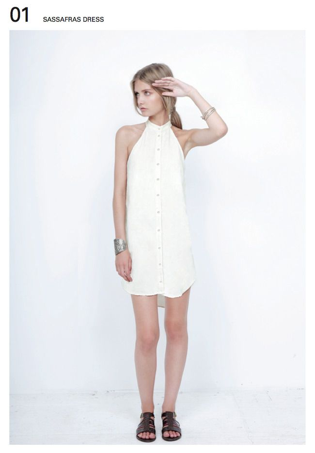 diy cute dress from men's shirt