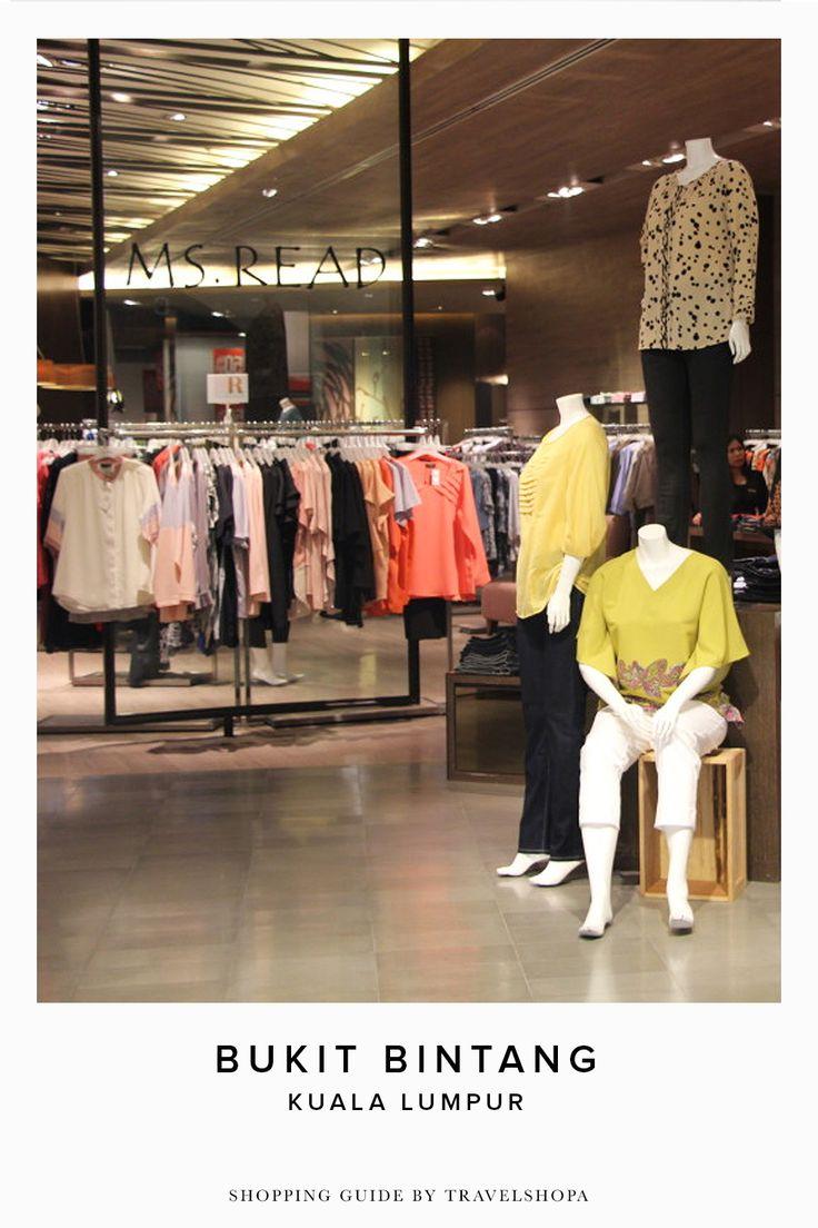 Shopping in Bukit Bintang | Where to shop in Kuala Lumpur | Shop local | Visit Travelshopa for more shopping guides
