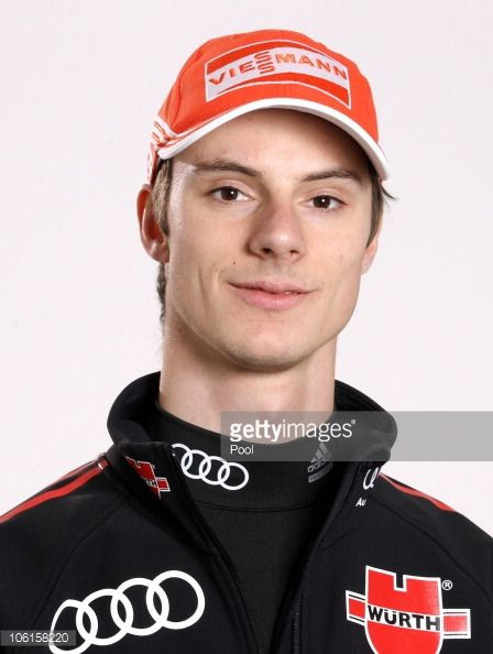 Ski jumper Andreas Wank of Germany poses during a photo call on October 26 2010 in Ingolstadt Germany