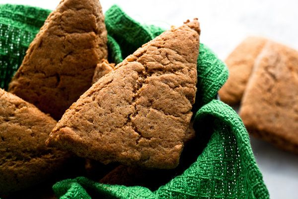 Whole-Wheat Ginger Scones: Substitute Buttermilk, Whole Wheat Ginger, Vegans, Food, Bread, Coconut Oil, Vegan Substitution, Healthy Recipes