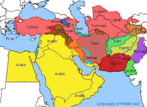 Best Language Images On Pinterest Speech And Language Idioms - Farsi language map