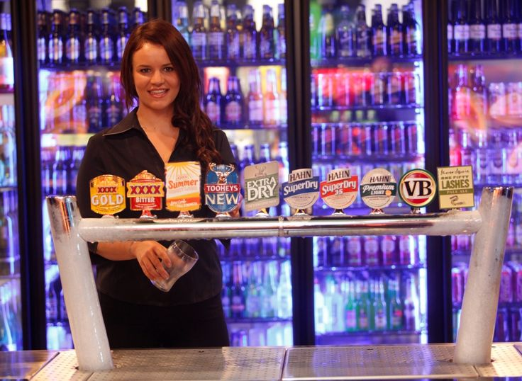 One of our friendly staff waiting to serve you.