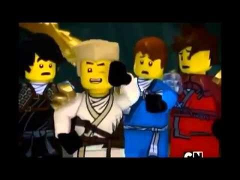 ▶ Ninjago Zane's Funny Switch ( a part from lego ninjago season 2 Episode 7) - YouTube