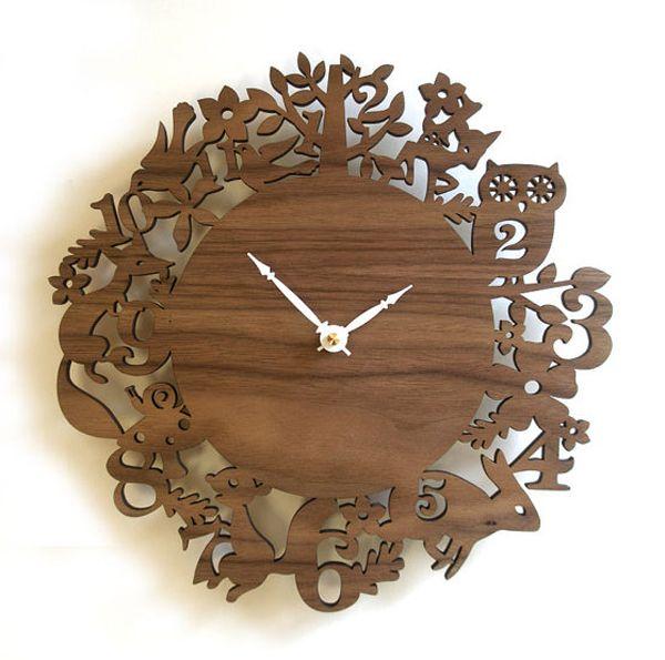 fresh idea whimsical clocks. wooden clock ideas 11 best It s Laser Time  Clocks images on Pinterest Pendulum