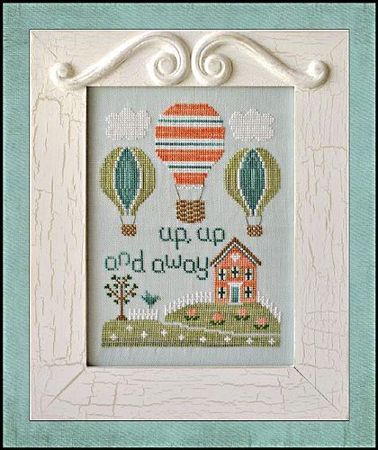 Country Cottage Needleworks - Up, Up and Away
