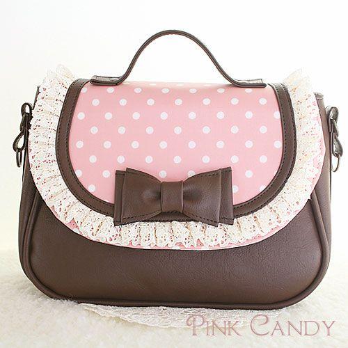 """《納期 2~3週間》プレシャスバッグ/03 Baby Pink - 【信頼の日本製】可愛いバッグや小物のお店 オリジナルブランド""""Pink Candy"""" 女の子の「大好き」をまごころ込めてお届けします♪"""
