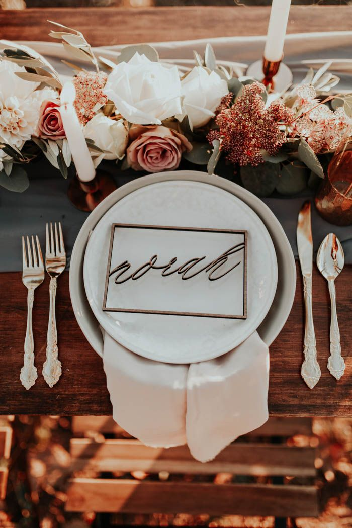Bride's place setting   Image by Andy Roberts Photography