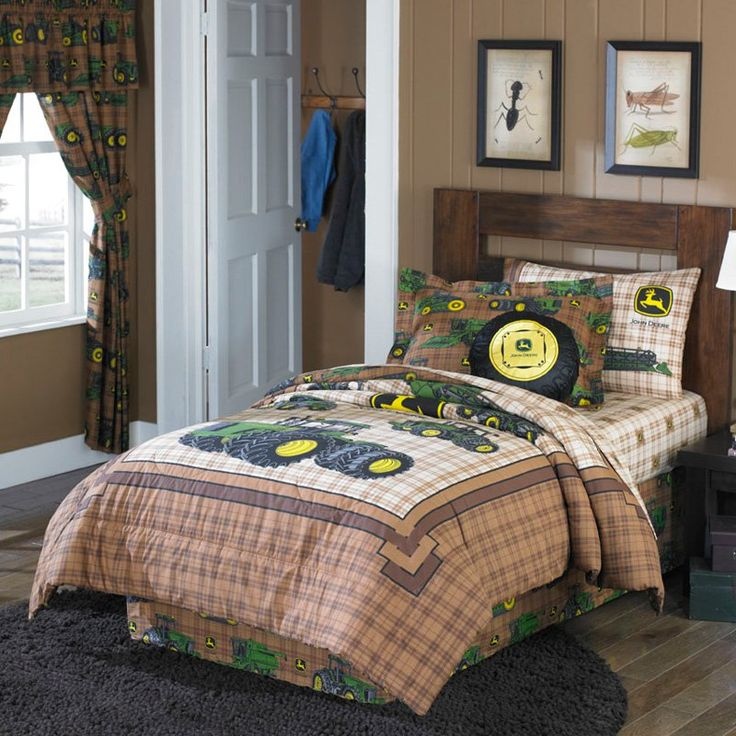 John Deere Traditional Bedding Set | from hayneedle.com