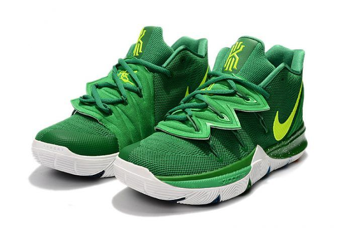 6aeeb7e6337c Buy Nike Kyrie 5 Green Volt-White Basketball Shoes Online in 2019 ...