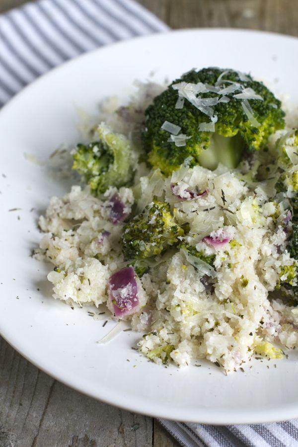 Bloemkoolrijst met broccoli 02