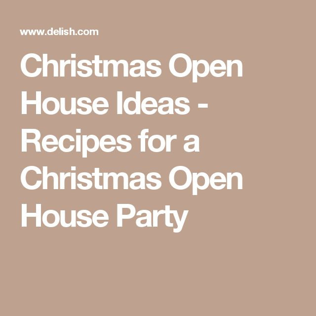 1000 ideas about christmas open house on pinterest for What food places are open on christmas