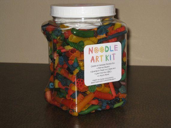Noodle art kit by itsybitsycreation on etsy 12 00