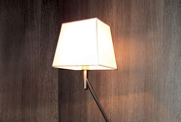 Bridget Wall Lamp by Penta Light. This lamp is extendable and adjustable allowing you to adjust the lamp with no restrictions for use.