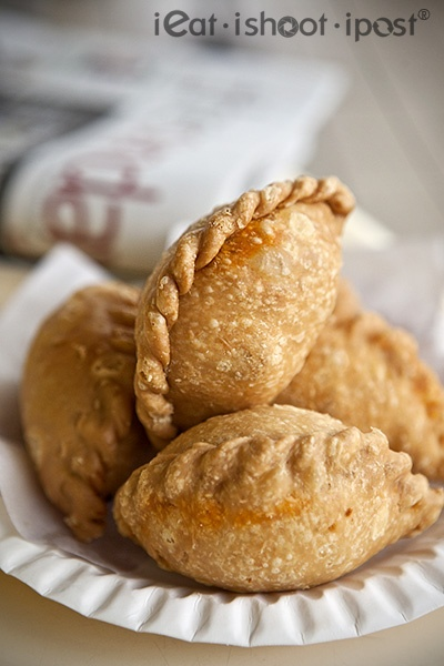 Curry Puffs - one of Singapore's favourite local snack