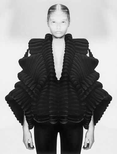 Sandra Backlund AW10. volume, sculptural, fashion, silhouette, art, fashion design, textiles