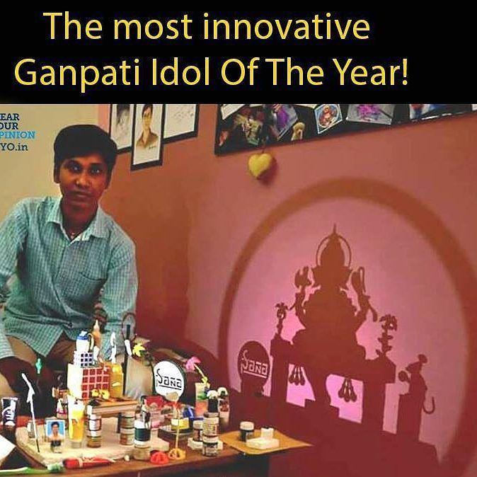 New pin for Ganpati Festival 2015 is created by by shailesh_1020 with regram @ganpati__bappa Innovative thinking #ganpati #ganpatibappamorya #devashreeganesha #bapaa #friend #festival #famous #share #likes #follow #ganpati #bappa #morya #ganpatibappamorya #ganpatibappa #devashreeganesha #siddivinayak #labodar #festival #famous #friends #share #follow #comment #love #likes #khetwadi #khetwadichaganraj #respect #lalbaugcharaja #ganeshgalli #instamarathilover #2015 #new #2k15
