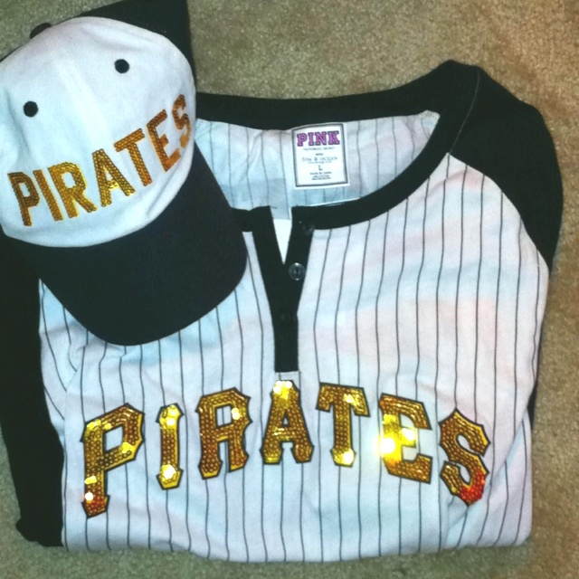 Pittsburgh Pirates Games are always fun no matter if we win or lose, just thinking about kicking back in my new pink gear with my best friends makes me crave the summer games already!