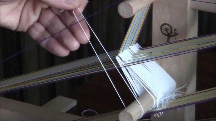 How To Warp an Inkle Loom  Inkle loom pt 1 #inkle #tabletweaving