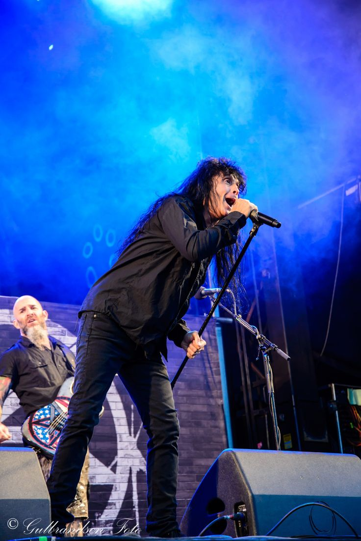 Anthrax at Tons of Rock 2014