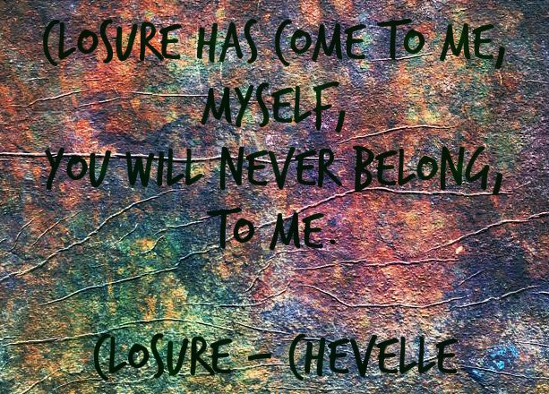 Closure by Chevelle #Lyrics #GoodTunes  [Awesome live band]
