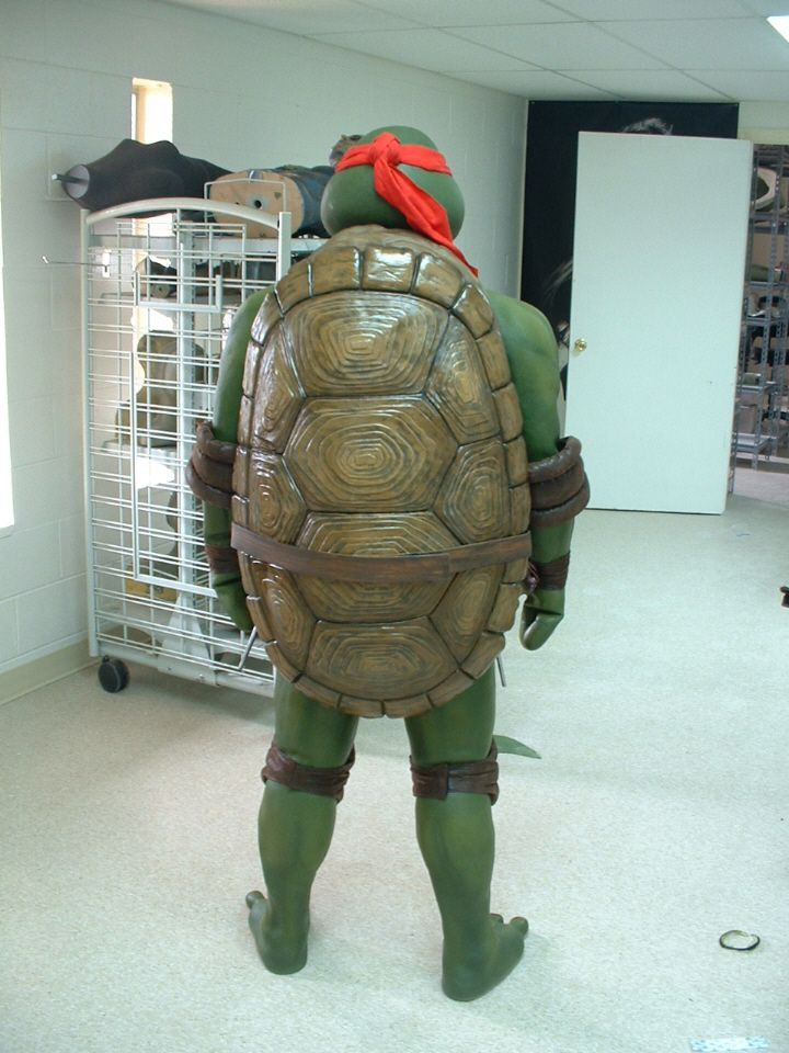 Ninja turtle cosplay costume