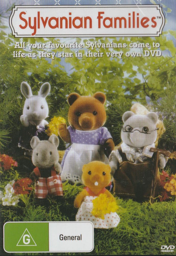 SYLVANIAN FAMILIES DVD - NEW & SEALED