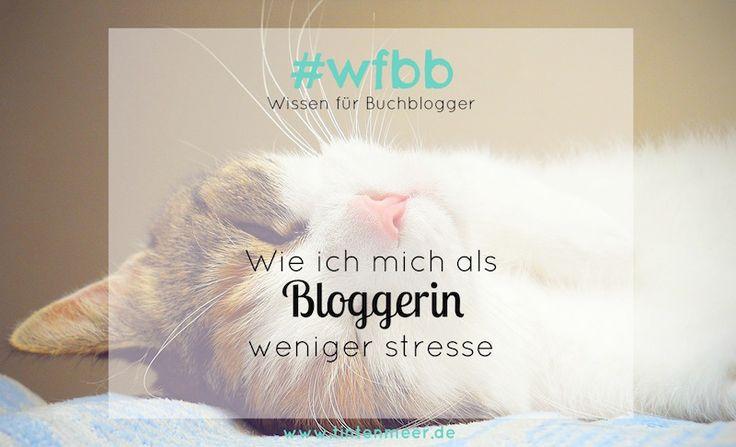 Weniger Stress: Warum ich jetzt entspannter blogge - Tintenmeer