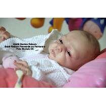 Boneca Bebê Reborn Fernanda Ou Fernando Igual A Um Bebe Real