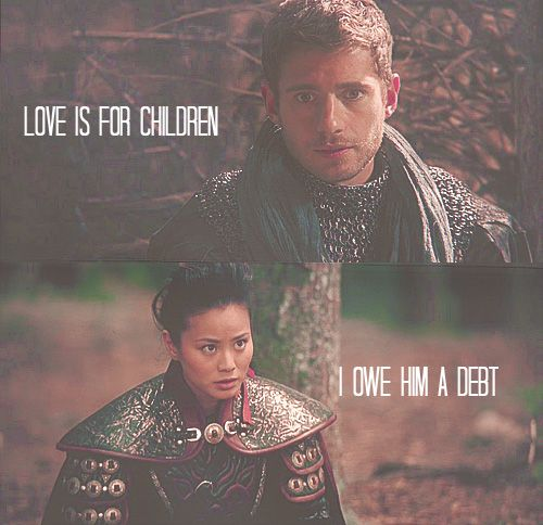 Once Upon a Time Phillip & Mulan