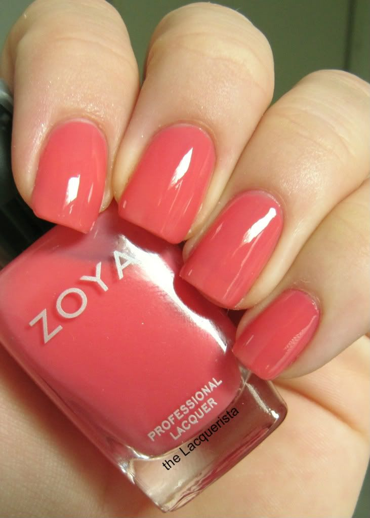 Lovely pic of Zoya Maya by The Laquerista. I love jelly polishes.