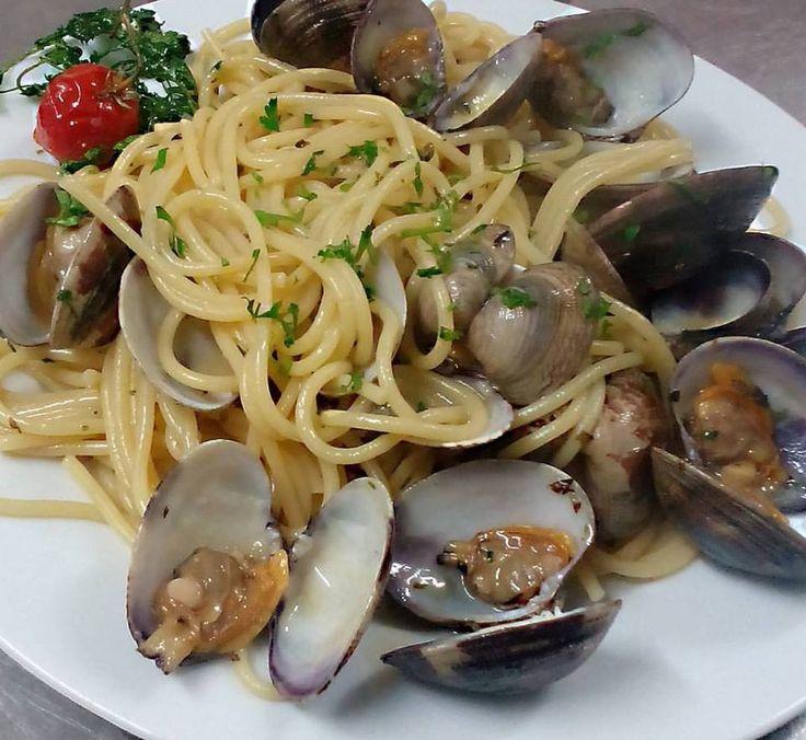 Spaghetti alle vongole #salento #seafood