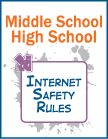 Middle School and High School Pledge- THIS SITE HAS *IMPORTANT* INTERNET SAFETY TIPS FOR EVERY AGE GROUP UP TO HIGH SCHOOL. They should incorporate this into the classroom.