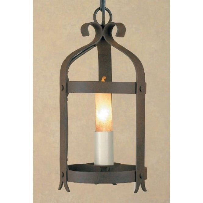 The Villa Lanterns Are A Range Of Medieval Style Wrought Iron Hanging Lights From Our Wellin Iron Wall Lighting Wrought Iron Ceiling Lights Iron Ceiling Lights