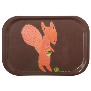 Squirrel Tray by Donna Wilson - enchanting