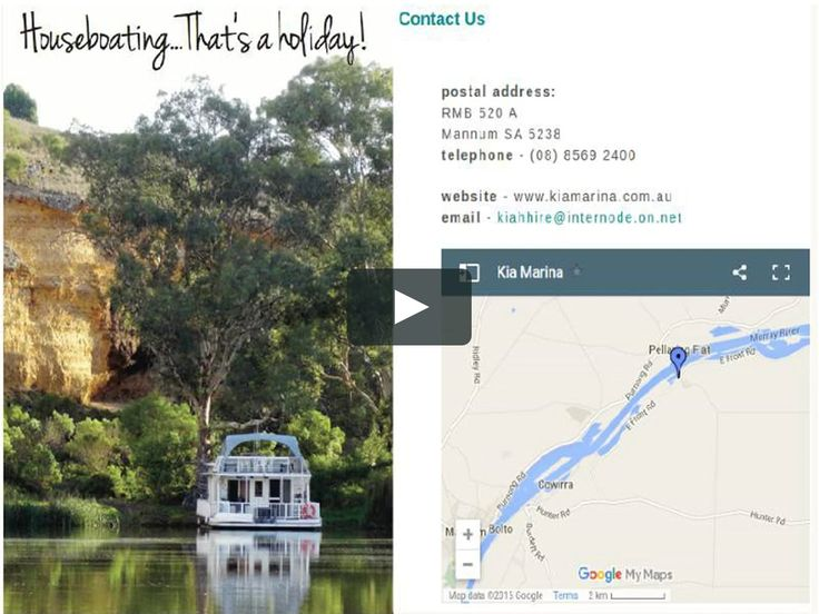 We endow spacious and luxurious houseboats at affordable rental charges on the Murray River. Hire Luxury houseboats on the Murray River and enjoy your next houseboat holiday with us. Visit: http://www.kiamarina.com.au/