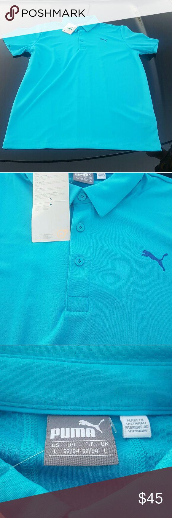 Puma Golf Polo Shirt NWT Puma Polo Shirt Puma Shirts Polos