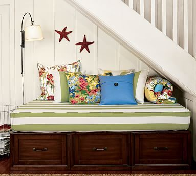 Stratton Storage Platform Daybed with Drawers #potterybarn