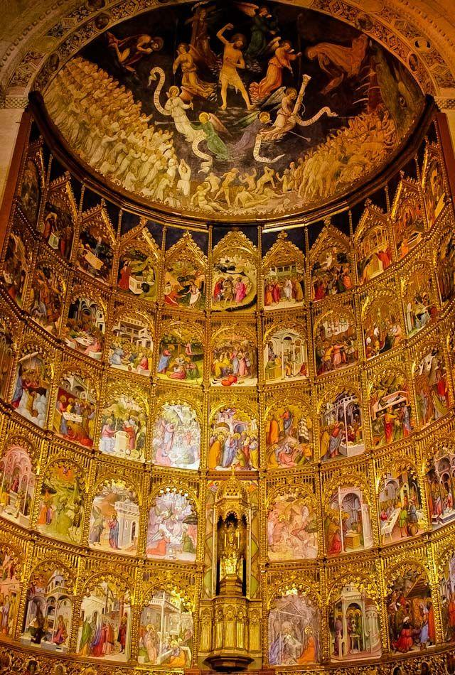 New Cathedral of Salamanca Interior Details ~ Castille & Leon, Spain