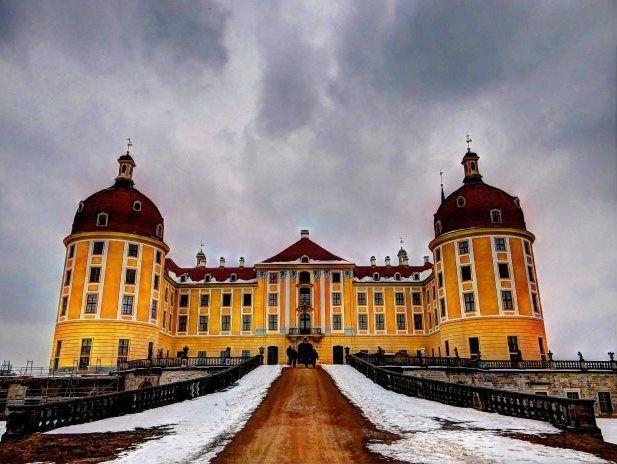 Almanya,Schloss Moritzburg